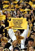 Terrible towel in crowd